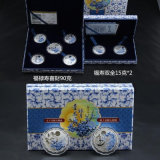 MID Autumn Sterling Silver Moon Cake Gifts Silver Jewelry