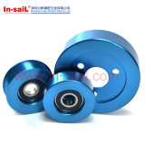 OEM Aluminium Pulley with Blue Anodized
