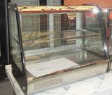 Mini Warm Dessert Display Case Counter Top Mini Showcase Glass Door Warmer