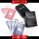 100% PVC Plastic Texas Holdem Poker Playing Cards Waterproof and Dull Polish Poker Star Board Games (YM-PC02)