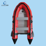 Customized Inflatable Fishing Boat for Lake Rigid Hull Inflatable Boat