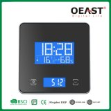 3kg Digital Kitchen Scale with Time, Temperature, Humidity Display Touch Button Ot6661th