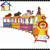 Big Cartoon Electric Train for Outdoor Playground Theme Park Ride