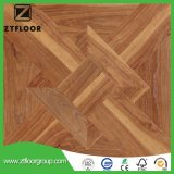 High HDF Wood Laminated Flooring Tile Waxed Waterproof Environment Friendly