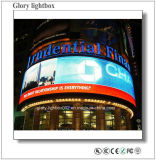 Round Outdoor Customed Design LED Display Panel