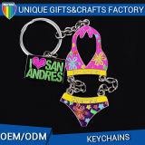 Wholesale Promotional Gift Fashion Custom Metal Keychain Key Ring Holder