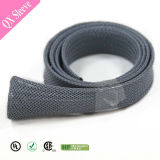 Nonflammable Braided Pet Nylon Expandable Cable Jaket Sleeving