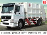 10m3 HOWO Rear-Loading Compressed Garbage Truck (QDZ5120ZYSZH)