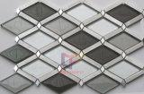 Rhombus Aluminium Mix Glass Mosaic (CFA82)