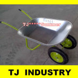 Russia Popular Model Double Wheels Wb5009 Wheel Barrow