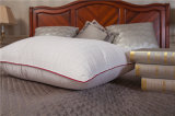 Home Design Cotton Jacquard Textile Red Satin Piping Pillow