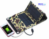 7W Foldable Solar Panel Portable Solar Charger for Smartphones, GPS, Ereaders, Gopro Camera