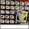 Halloween Cosplay Crazy Contact Lens/Cosmetic Vampire Crazy Contact Lens