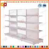 Double Sided Back Panel and Wire Supermarket Display Shelving (Zhs340)