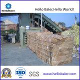 New Semi-Auto Horizontal Hydraulic Cardboard Baler with Reliable System