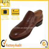 Top Quality Brown Senior Officer Shoes