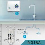 Home Kitchen Wall Mounted Ozone Generator Water Purifier with Active Carbon & UF Membrane Filters