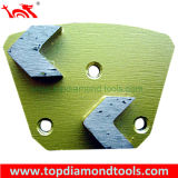 Trapezoid Diamond Grinding Shoes and Plates for Concrete Floor