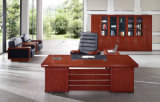 New Design Wooden Executive Office Table with Leather (FOH-A3A241)