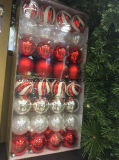 Christmas Decoration Ornaments Round Balls in Different Sizes (OEM)