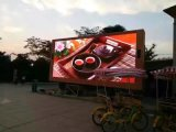 P8 High Technology Outdoor Fullcolor LED Screen Electronic Aluminum Die Cast Display