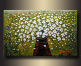 Flower Oil Painting / Floral Canvas Art (FL1-051)