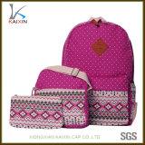 Casual Lightweight Canvas Backpacks Cute DOT Shoulder Bag School Backpack