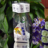 OPP Cello Clear Bag with Hard Paper Bottom Candy Bag
