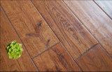 Hand-Scraped Hardwood Parquet / Oak Wood Flooring