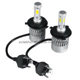 36W 4000lm 6500k H4 S2 COB Car LED Headlight, LED Head Lamp with Fan
