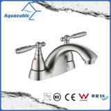 Contemporary Bathroom Widespread Wash Basin Faucet (AF0094-6BN)