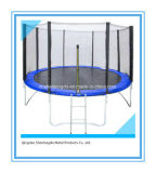 8FT Outdoor Kids Jumping Trampoline with Safety Enclosure
