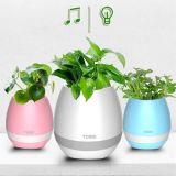 Music Flowerpot, Bluetooth Speaker Flowerpot, LED Flowerpot