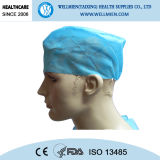 Hospital Use Disposable Non-Woven Medical Doctor Caps with Ties