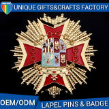 Hottest Lapel Pins Badges Enamel with Logo Printing Badges