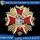 Hottest Lapel Pins Badges Enamel with Logo Printing Badges