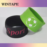 Cool Color Custom Slap Bracelet Debossed Under Your Design