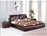 Ameican Bedroom Furniture Leather Bed