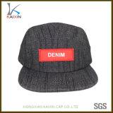 Custom Hip Hop Denim 5 Panel Cowboy Hat