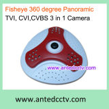Panoramic Infrared Dome Camera HD-Cvi/Tvi/Cvbs Video Output 3 in 1 Hybrid CCTV Camera
