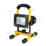 220V 10W Outdoor Rechageable LED Flood Light