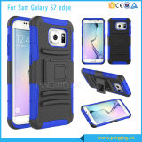 PC+Silicone Holster Blet Clip Case for Samsung Galaxy S7 Edge