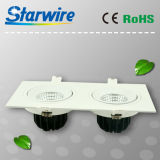 Cl18-B01 High Lumen Dimmable 18W COB LED Downlight
