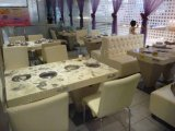 White Dining Table for 4 Seats