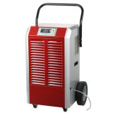 90L/Day Portable Basement Dehumidifier Air Dehmidifier with Big Wheels and Handholds