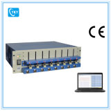 8 Channel Battery Analyzer (0.005 -1 mA, upto 5V) W/ Adjustable Cell Holders Laptop & Software