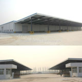 Light Prefab Steel Structure Workshop Project with Big Over Hang