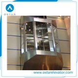 Cutting-Angle Type Glass Panoramic Elevator for Modern Building