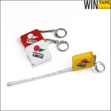 1m/Mini Steel Key Holder with Tape Measure with Your Logo