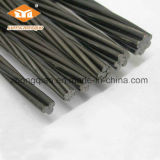 9mm Bright Concretetension Steel Strand for Post Tension